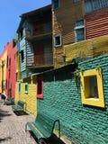 Район Boca Ла в Буэносе-Айрес - Аргентине - Южной Америке стоковая фотография