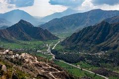 Район Buner KPK Пакистан Стоковое Изображение