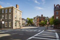 Район Charlestown в Бостоне, МАМАХ стоковое изображение rf