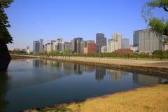 Район Chiyoda, токио, Япония Стоковая Фотография