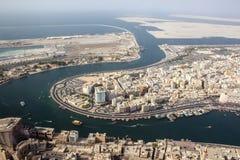 Район Deira, Дубай стоковые фотографии rf