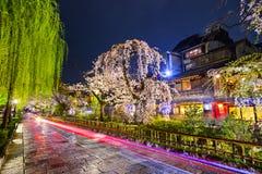 Район Gion, Киото Стоковое Фото