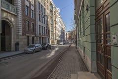Район Khamovniki, Москва стоковая фотография rf