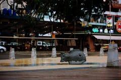 Район Kota Kinabalu Стоковое Изображение