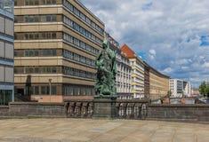 Район Mittle Берлина Германия стоковое изображение