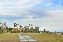 Район Punta Gorda, Монтевидео, Уругвай Стоковые Фото