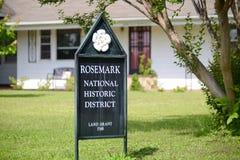 Район Rosemark национальный исторический, Теннесси стоковые фото