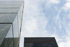 Район ` s Лондона финансовый Стоковое Изображение RF