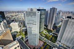 Район Shinjuku токио Стоковое Изображение