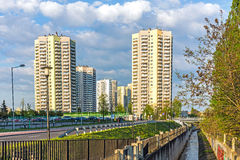 Район Walenty Rozdzienski Стоковое Изображение