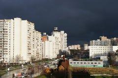 Район Zelenogradskiy Москвы Стоковое фото RF