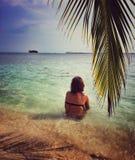 Рай в Панаме Стоковое Изображение