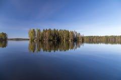 Рай голубого неба Стоковое Изображение RF