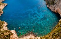 рай Греции залива фантастичный Стоковое Изображение RF