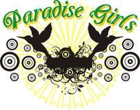 рай девушок Стоковые Фотографии RF