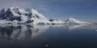рай залива Антарктики Стоковые Фотографии RF