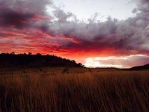 Рай захода солнца Стоковая Фотография RF