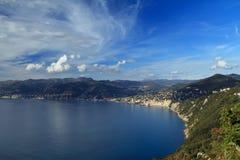 рай Италии Лигурии залива Стоковые Фото