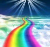 рай к путю Стоковая Фотография RF