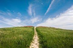 рай к путю Стоковая Фотография