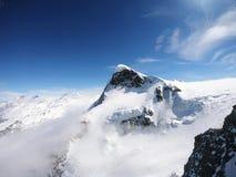 Рай ледника, на Klien Маттерхорне, Швейцария стоковая фотография rf