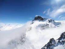 Рай ледника, на Klien Маттерхорне, Швейцария стоковые изображения rf