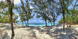 рай Маврикия Стоковые Изображения RF