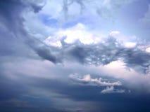 Рай облака смотря прямо вверх Стоковая Фотография