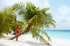 рай острова, котор нужно приветствовать Стоковые Изображения RF