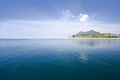 рай острова тропический Стоковое Изображение