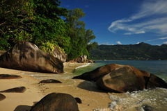рай острова стоковые изображения rf
