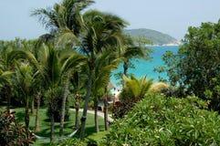 рай острова hainan сада Стоковые Изображения RF
