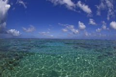 рай пляжа мечт тропический Стоковое Изображение