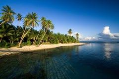 рай пляжа тропический Стоковое Изображение