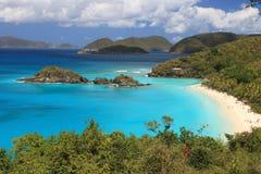 рай пляжа Стоковое Изображение