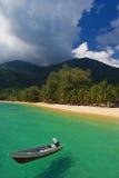рай пляжа Стоковая Фотография
