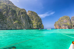 Рай пляжа лагуны Стоковое Фото