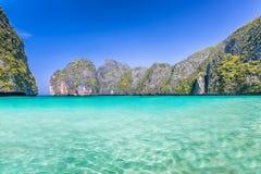Рай пляжа лагуны Стоковые Фотографии RF