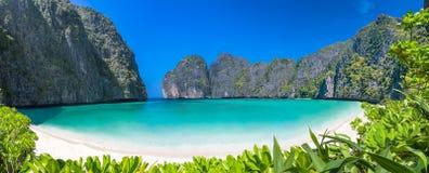 Рай пляжа лагуны Стоковая Фотография