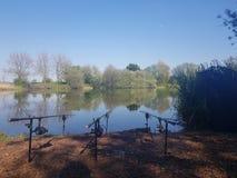 Рай рыбной ловли стоковое фото rf