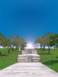 рай сада Стоковые Изображения RF