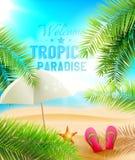 рай тропический Стоковое Изображение RF