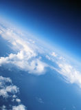 рай 2 облаков Стоковое Изображение