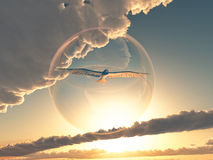 рай Стоковая Фотография RF