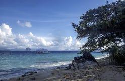 Рай El Nido, остров пляжа Стоковое фото RF