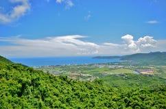 Рай Forest Park залива Yalong тропический - красивые виды Стоковое фото RF