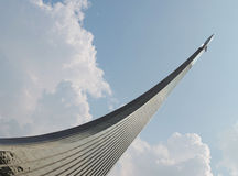 Ракета в парке VDNKh в Москве Стоковое Изображение RF