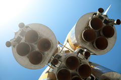 ракета двигателей Стоковые Фотографии RF