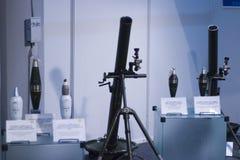 ракета пусковых установок дисплея Стоковое Изображение