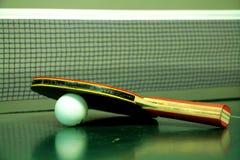 Ракетка настольного тенниса стоковая фотография
